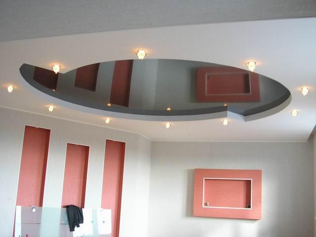 гипсокартон - потолок из гипсокартона